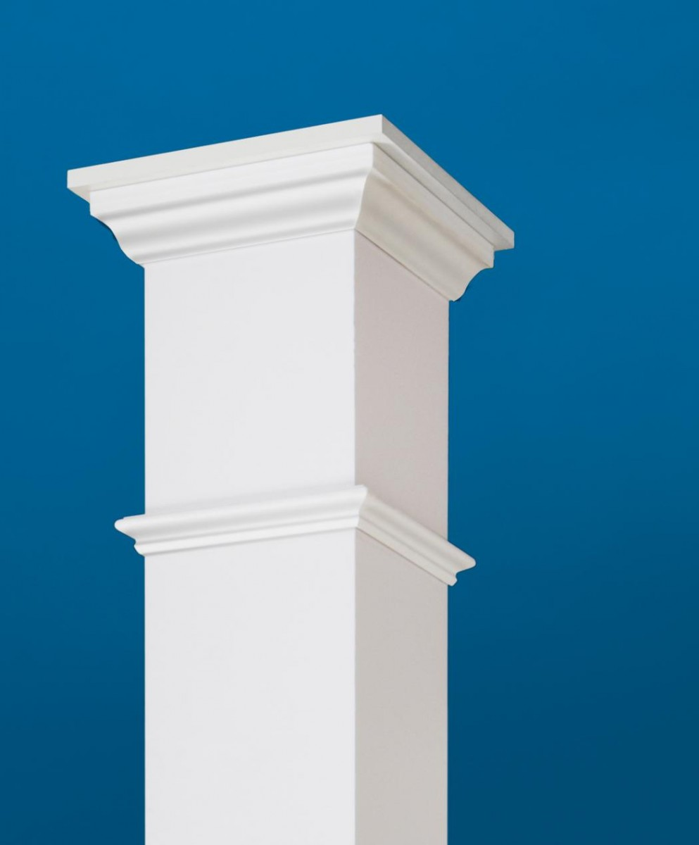 Easy To Install CertainTeed Restoration Millwork® Column Wraps Boost Curb  Appeal