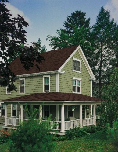Certainteed corporation introduces 16 new colors to for Cypress color vinyl siding