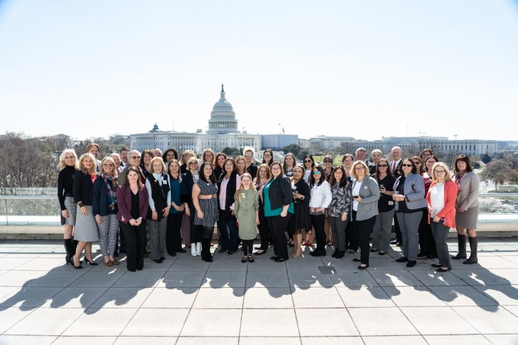 Members of National Women in Roofing