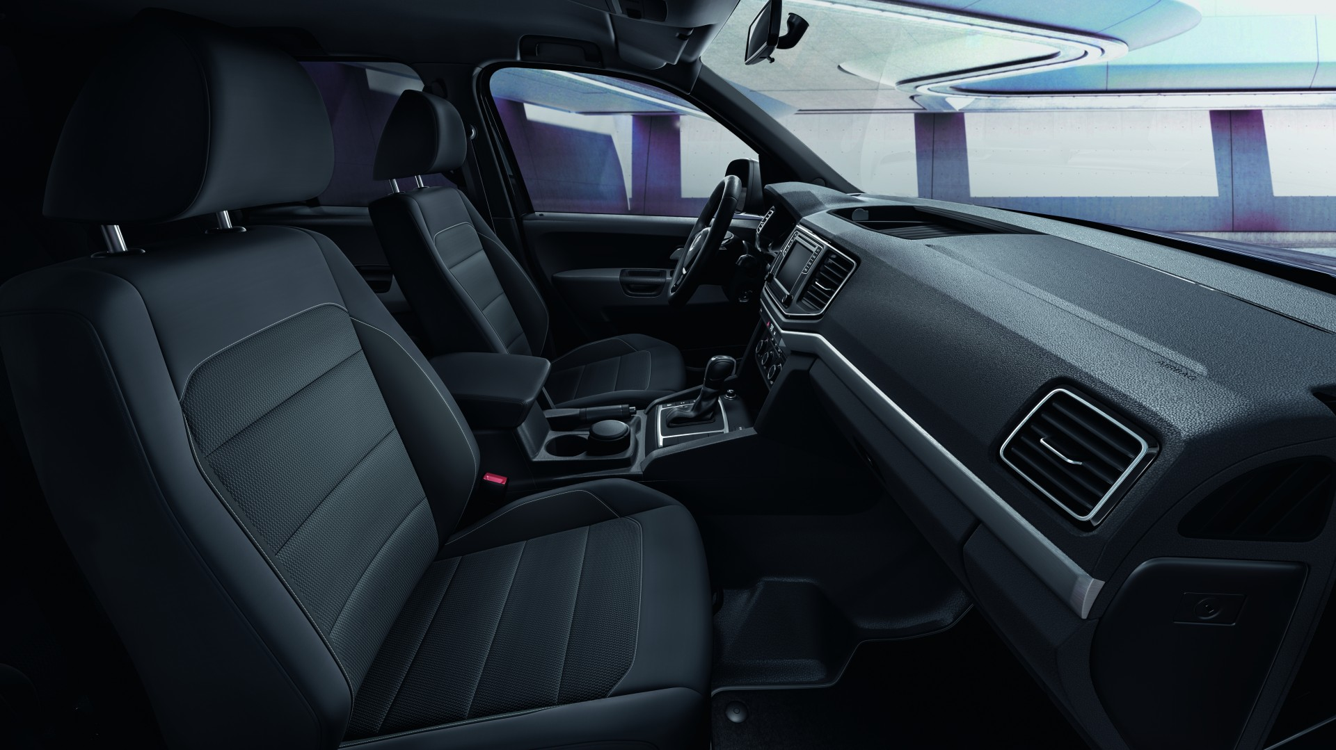 Amarok Dark Label interieur