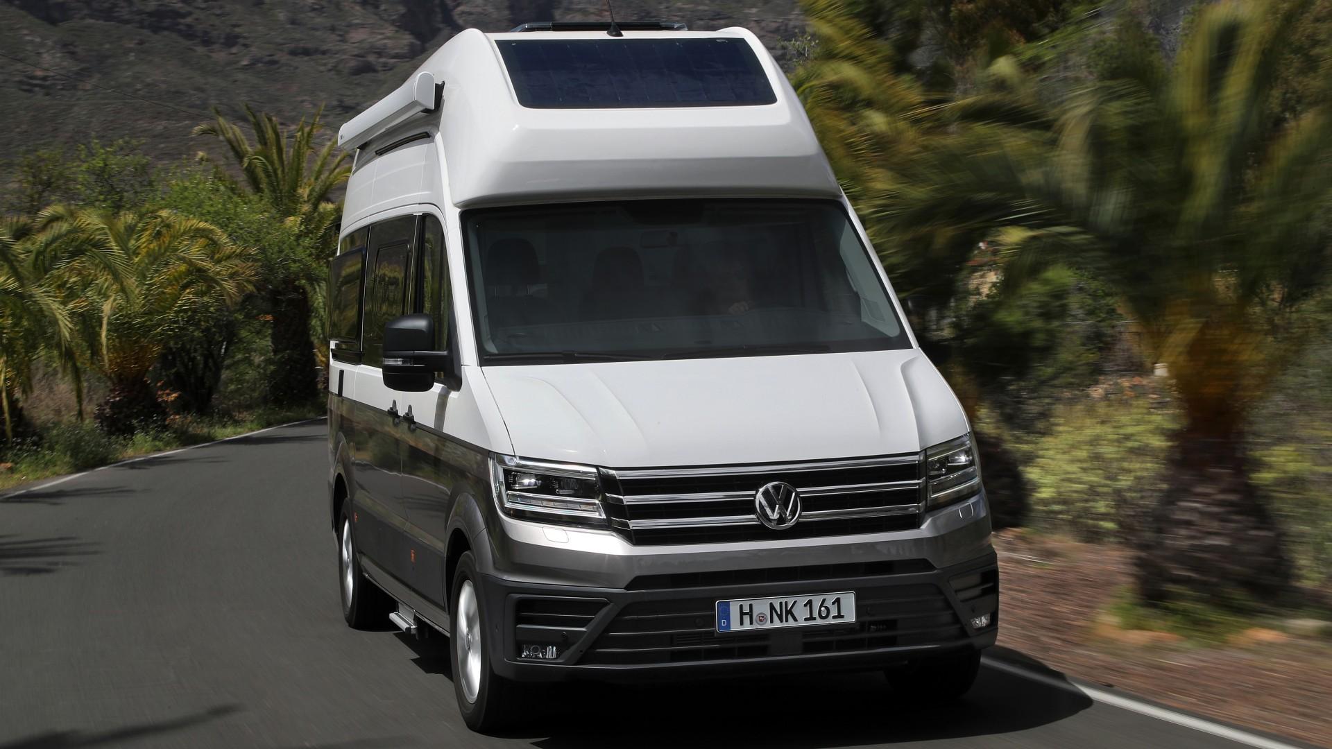 Vw Camper Uitschuifbaar.Volkswagen Bedrijfswagens Prijst Grand California 600