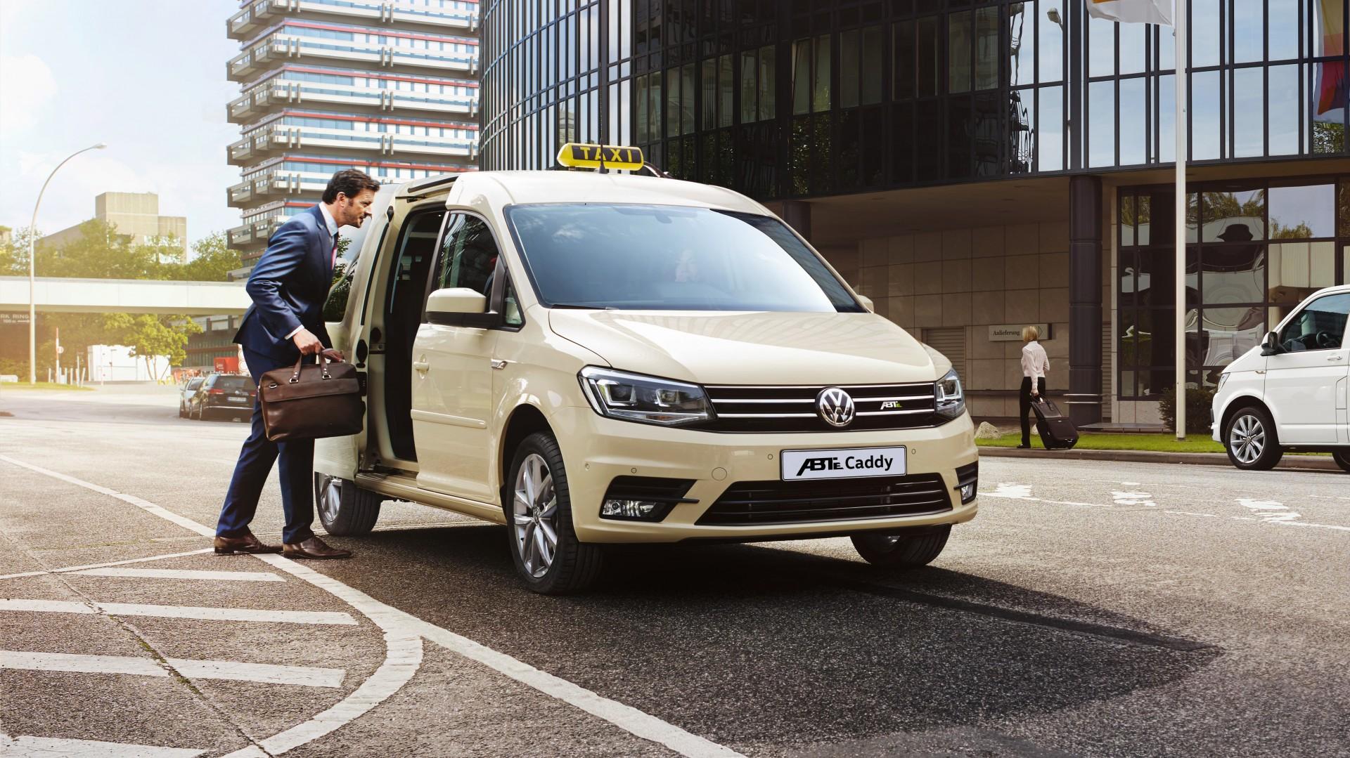 Volkswagen Bedrijfswagens Gaat Elektrisch Met De Abt E Caddy En E