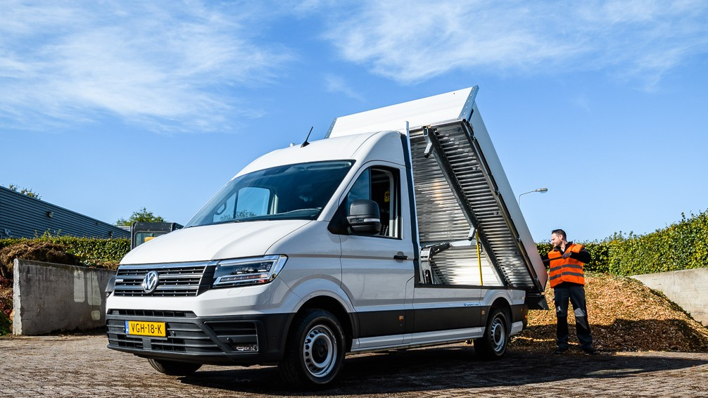 Volkswagen e-Crafter nu ook als pick-up en kipper7