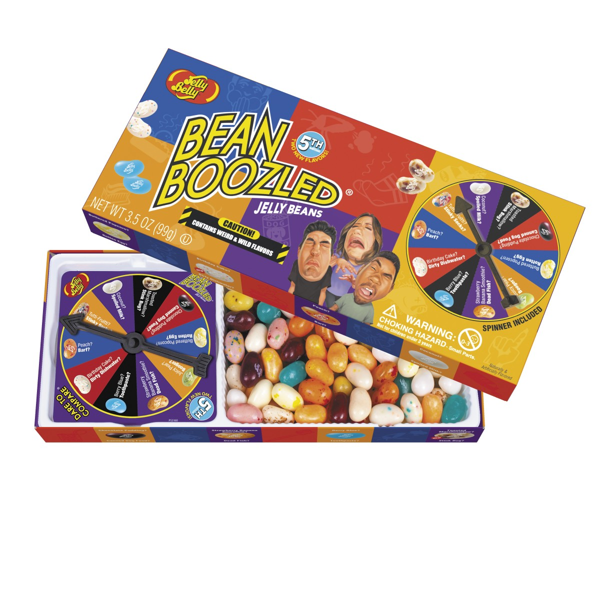 Beanboozled 5th Edition Debuts Features Two Outrageous New Pairings
