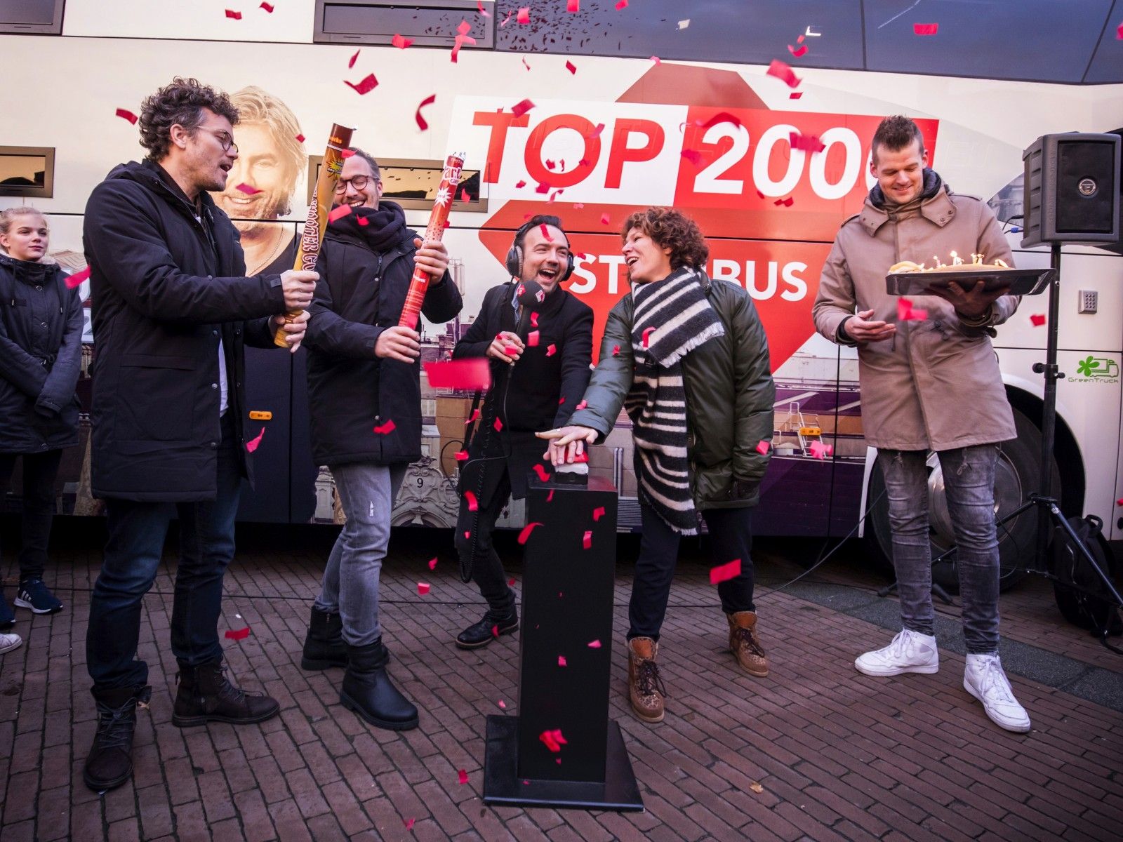 Startschot Top 2000 stemweek