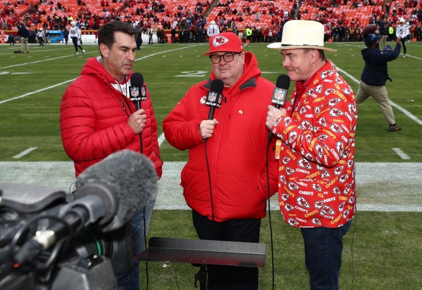 Big Slick Hosts  at Chiefs game