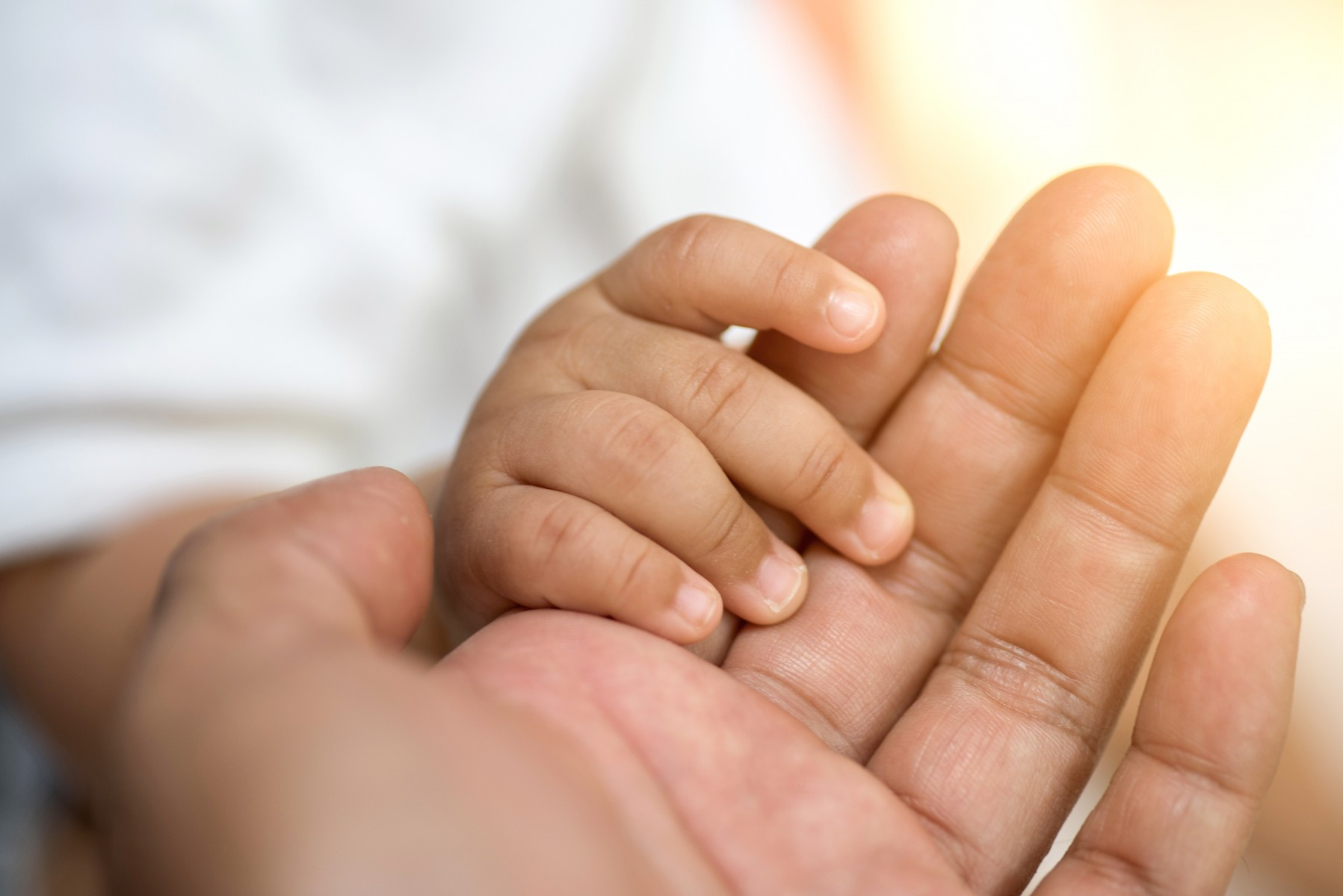 Child Holding Mom's Hand