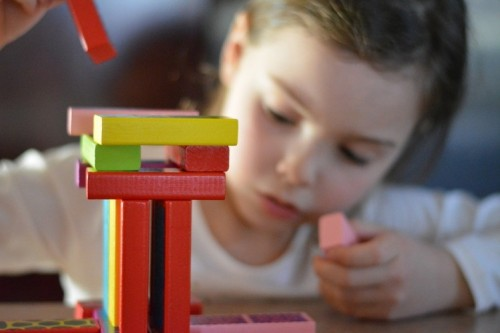 child with blocks google images