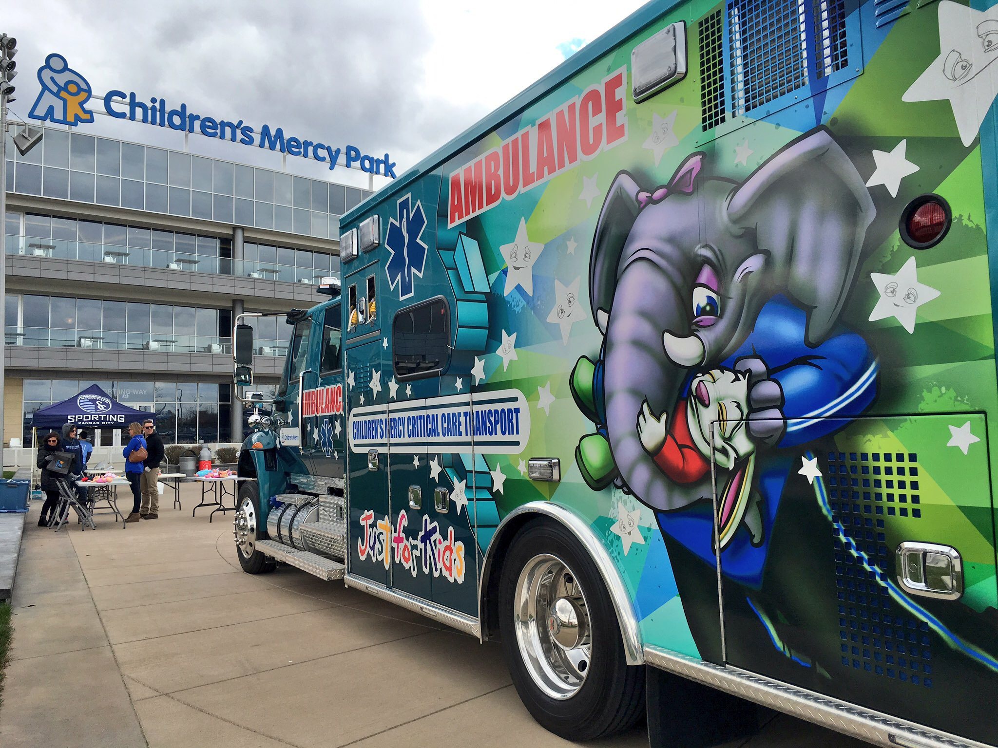Children s Mercy Park kicks off the season with employee open house