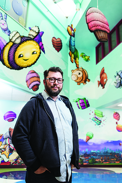 Children's Hospitals Today: In-House Artist Brings Fun to