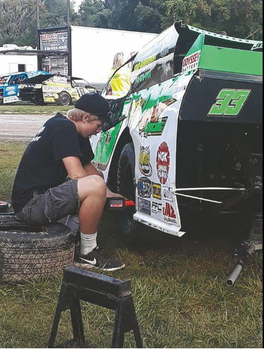 Teen has passion for racing and helping others
