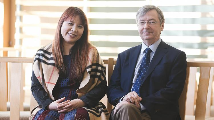 Dr. Tom Curran and Dr. Jessie Ng