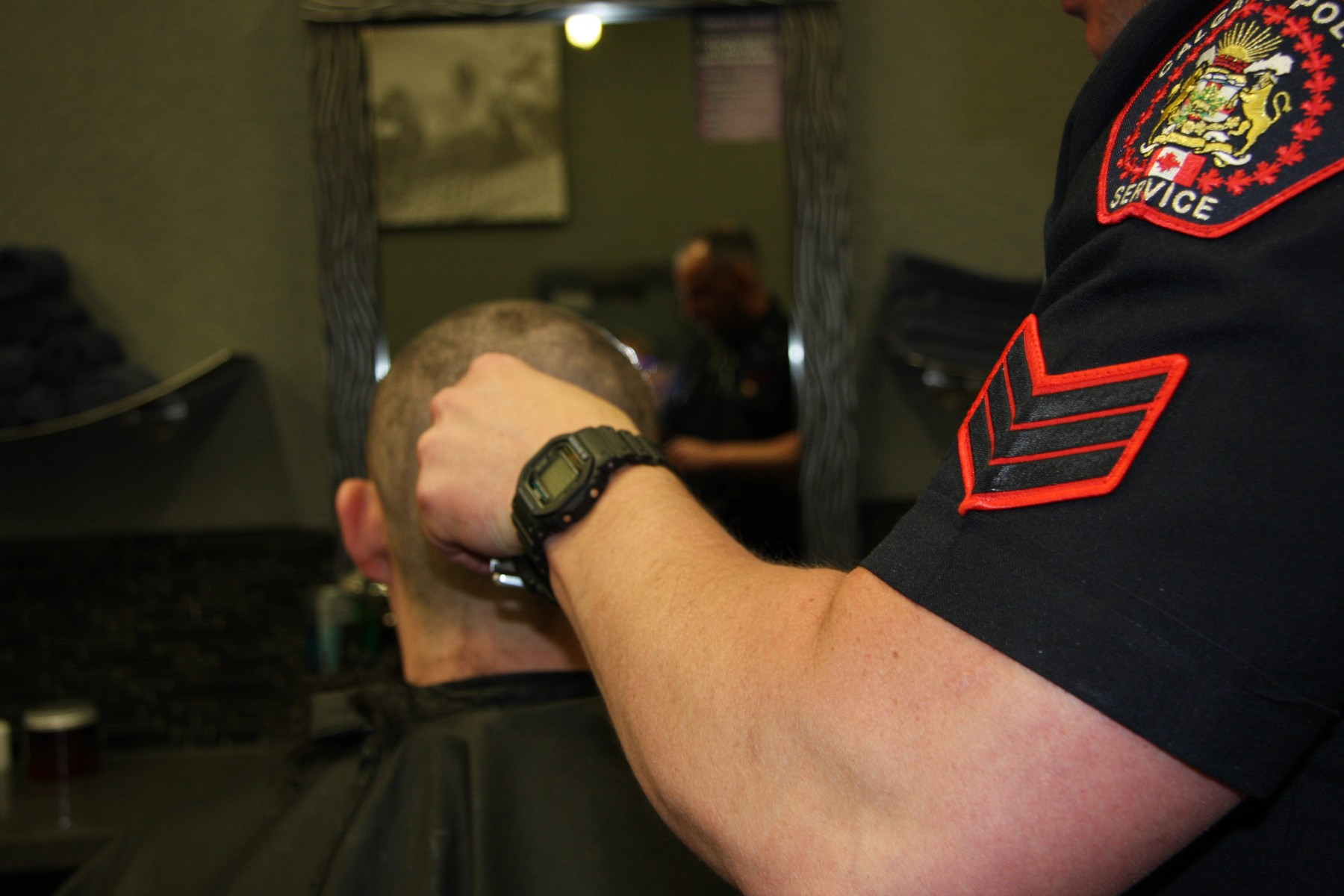 Auxiliary Head Shave