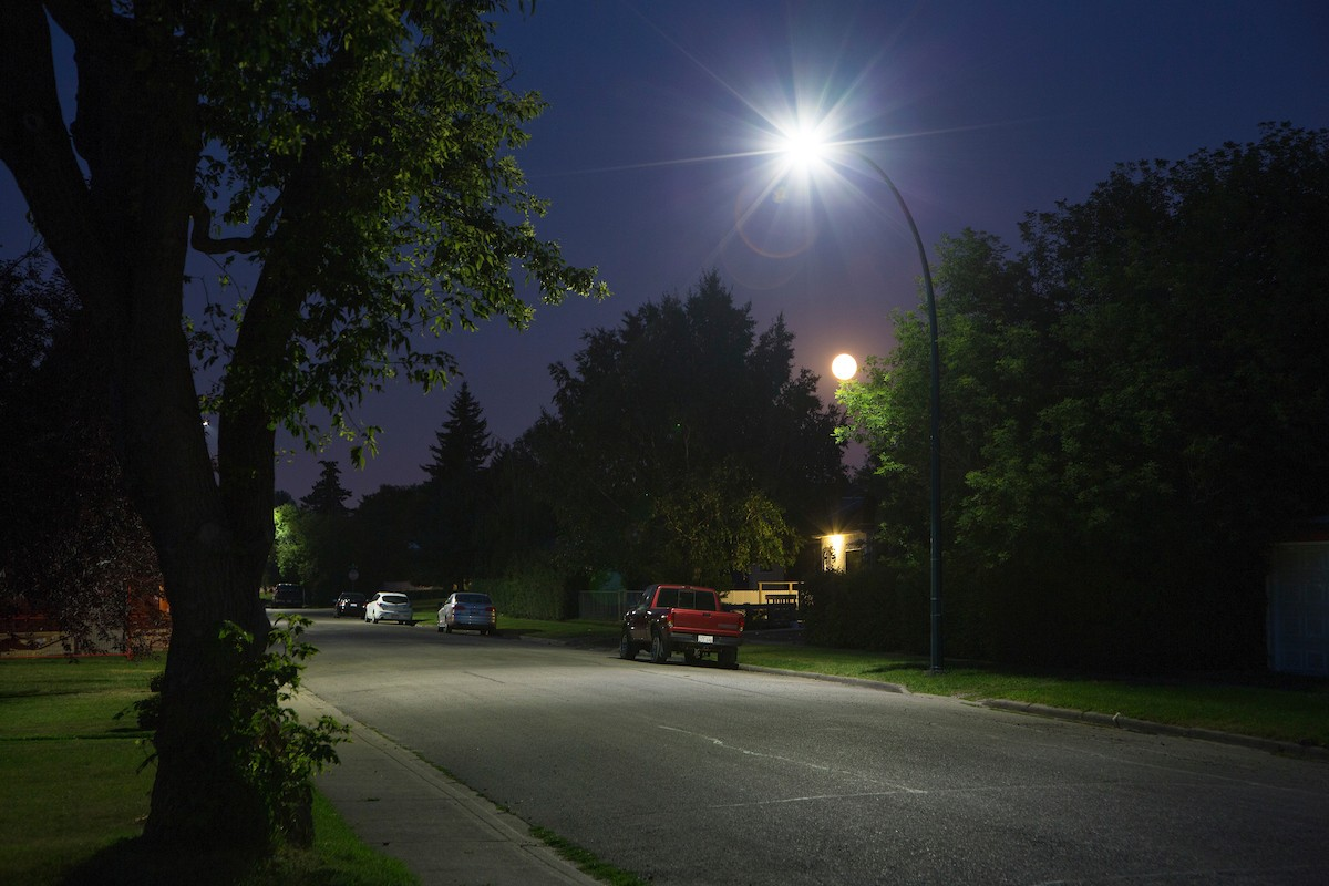 City-wide LED street light replacement complete