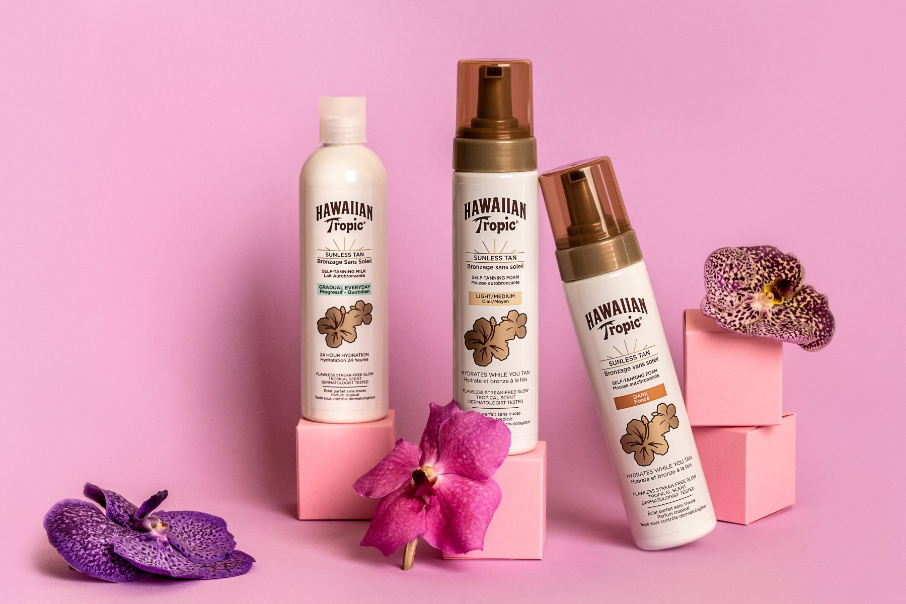 Hawaiian Tropic Sunless tan