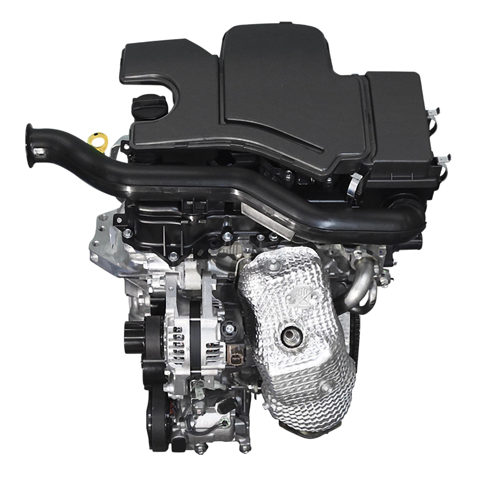 2014 Yaris Engine