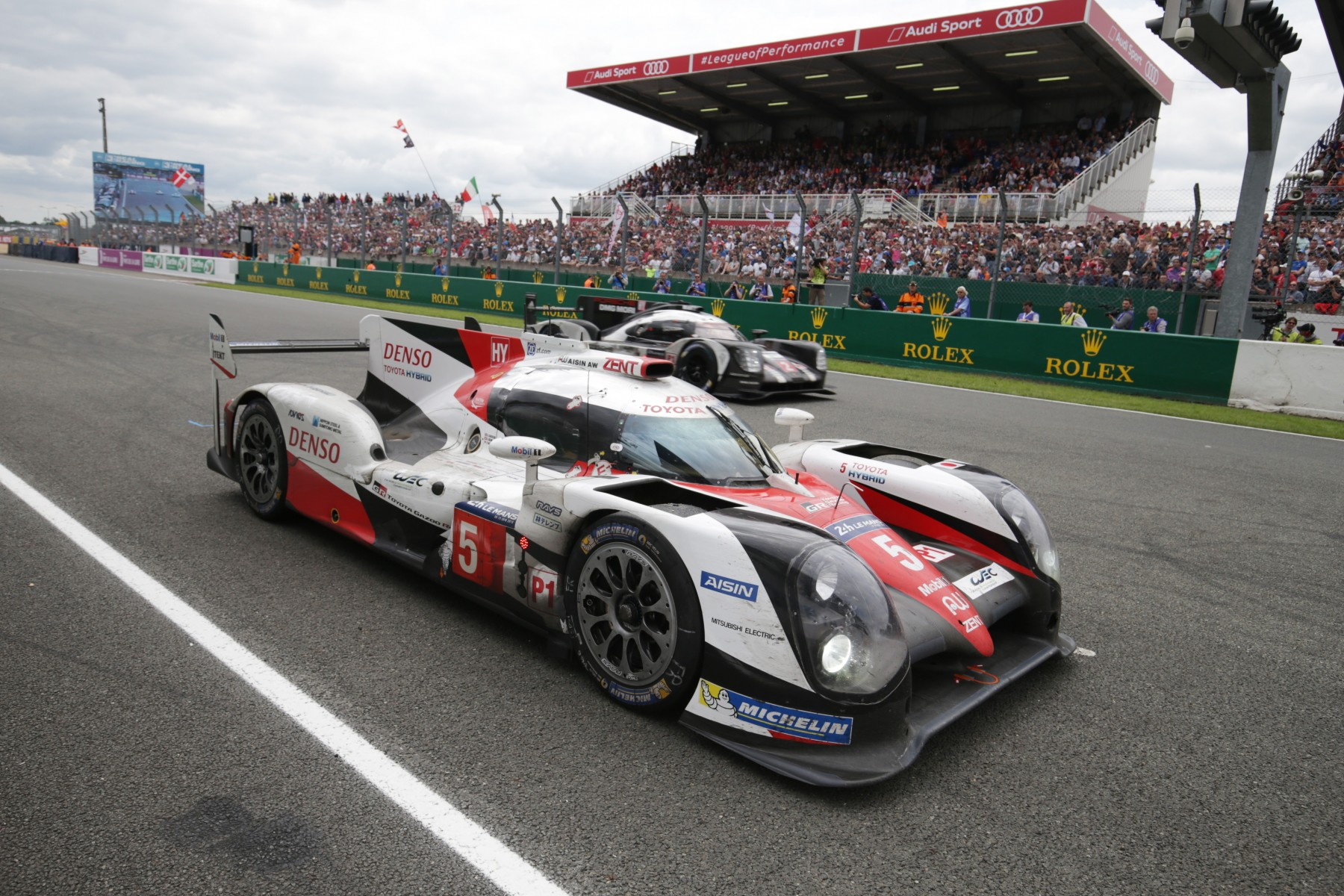 HEARTBREAK FOR TOYOTA GAZOO RACING AT LE MANS