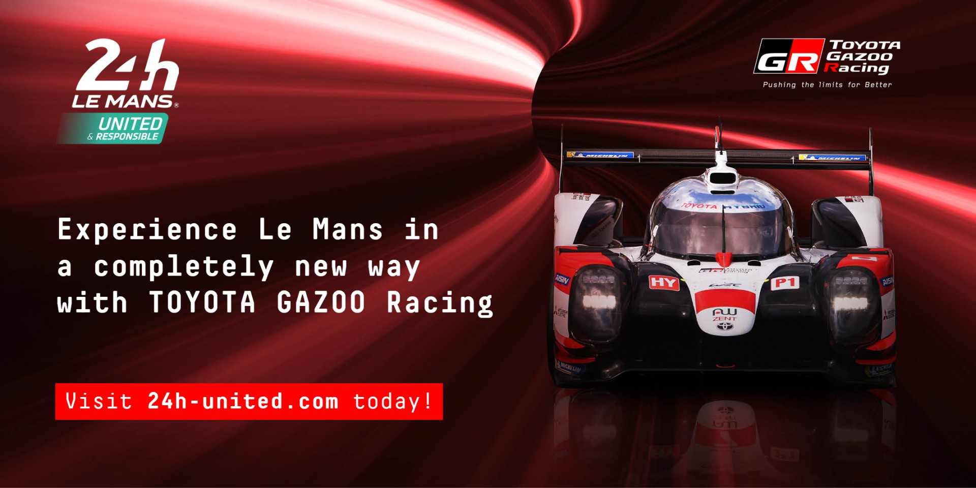 24h Le Mans United Promo Visual