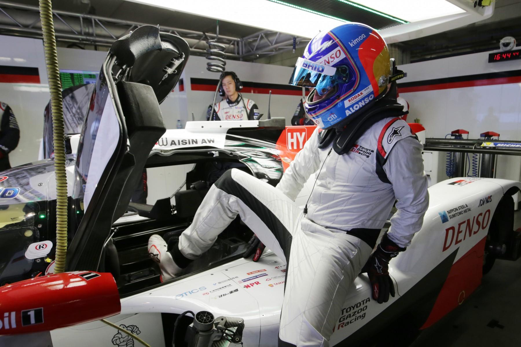 Resultado de imagen de Fernando Alonso toyota wec
