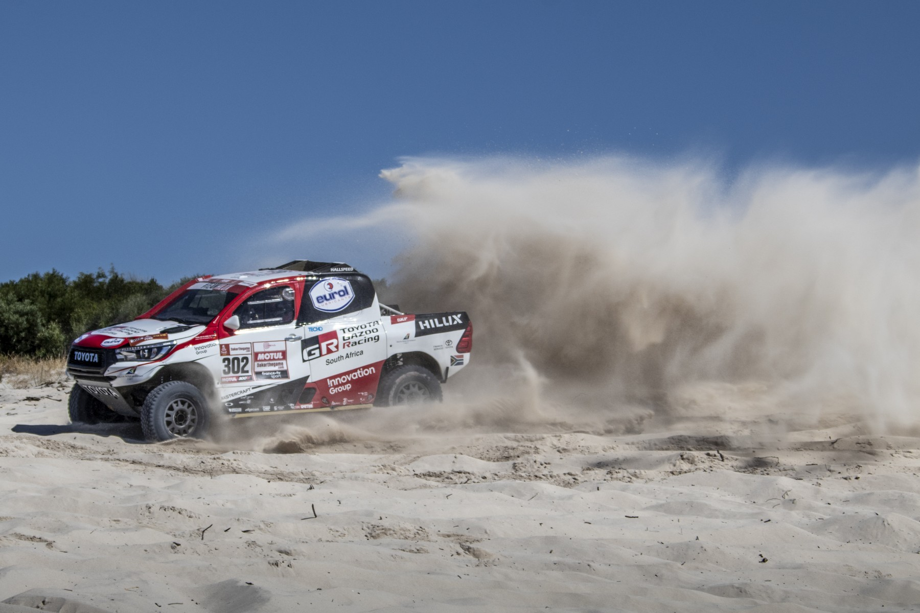 toyota gazoo racing to take on dakar 2019 with three car line up. Black Bedroom Furniture Sets. Home Design Ideas
