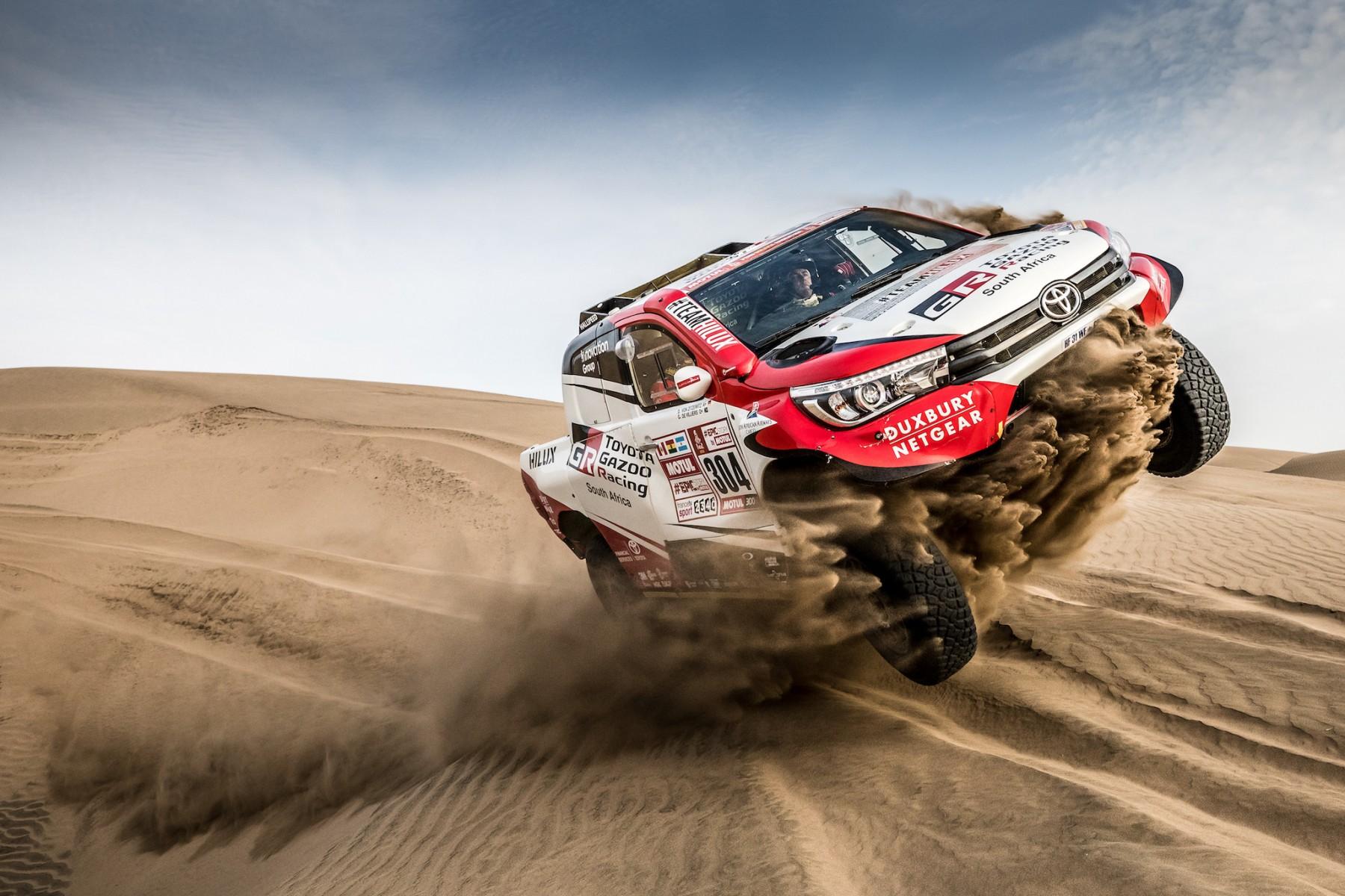 2018 Dakar Rally: desert race