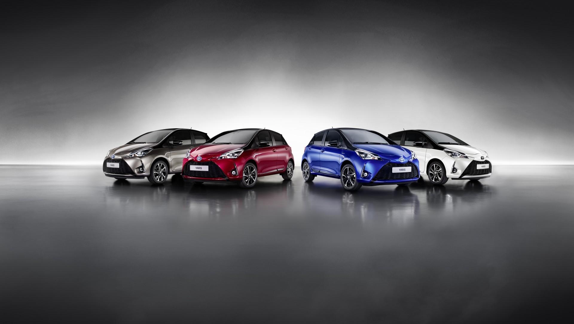 New 2017 Toyota Yaris Led Driven Tail Brake Light Cluster