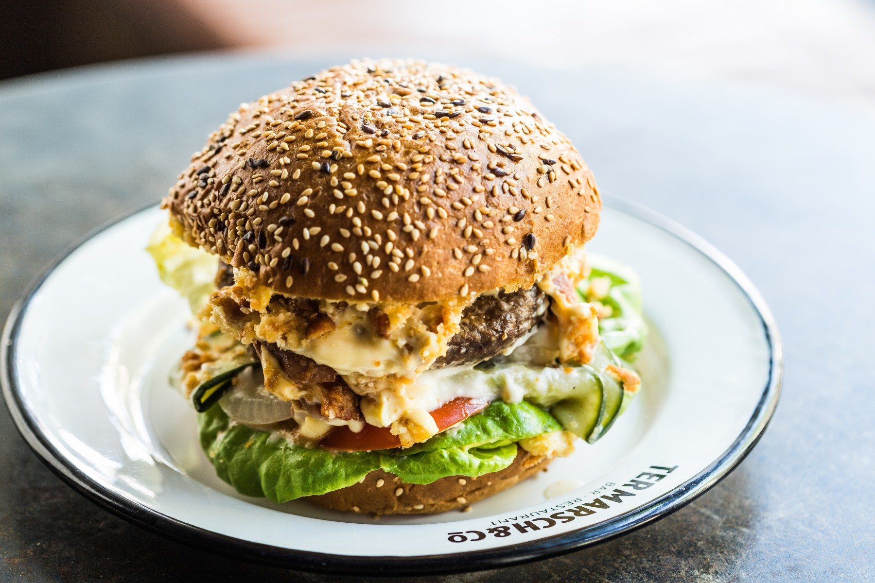 Ter Marsch & Co Natural Happiness  Burger