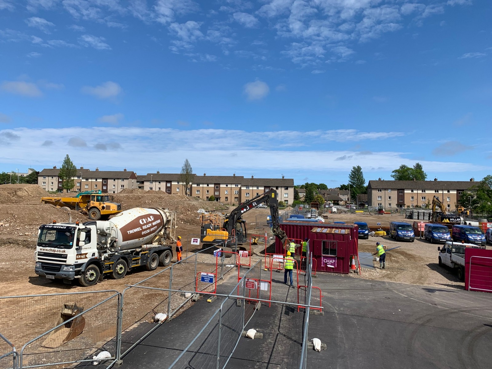 Site Entrance Alterations 16.06.20