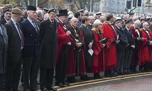 Remembrance Sunday Aberdeen