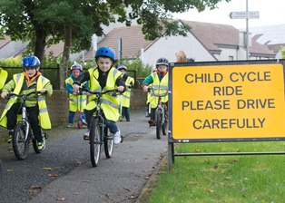 Children Bike Ride