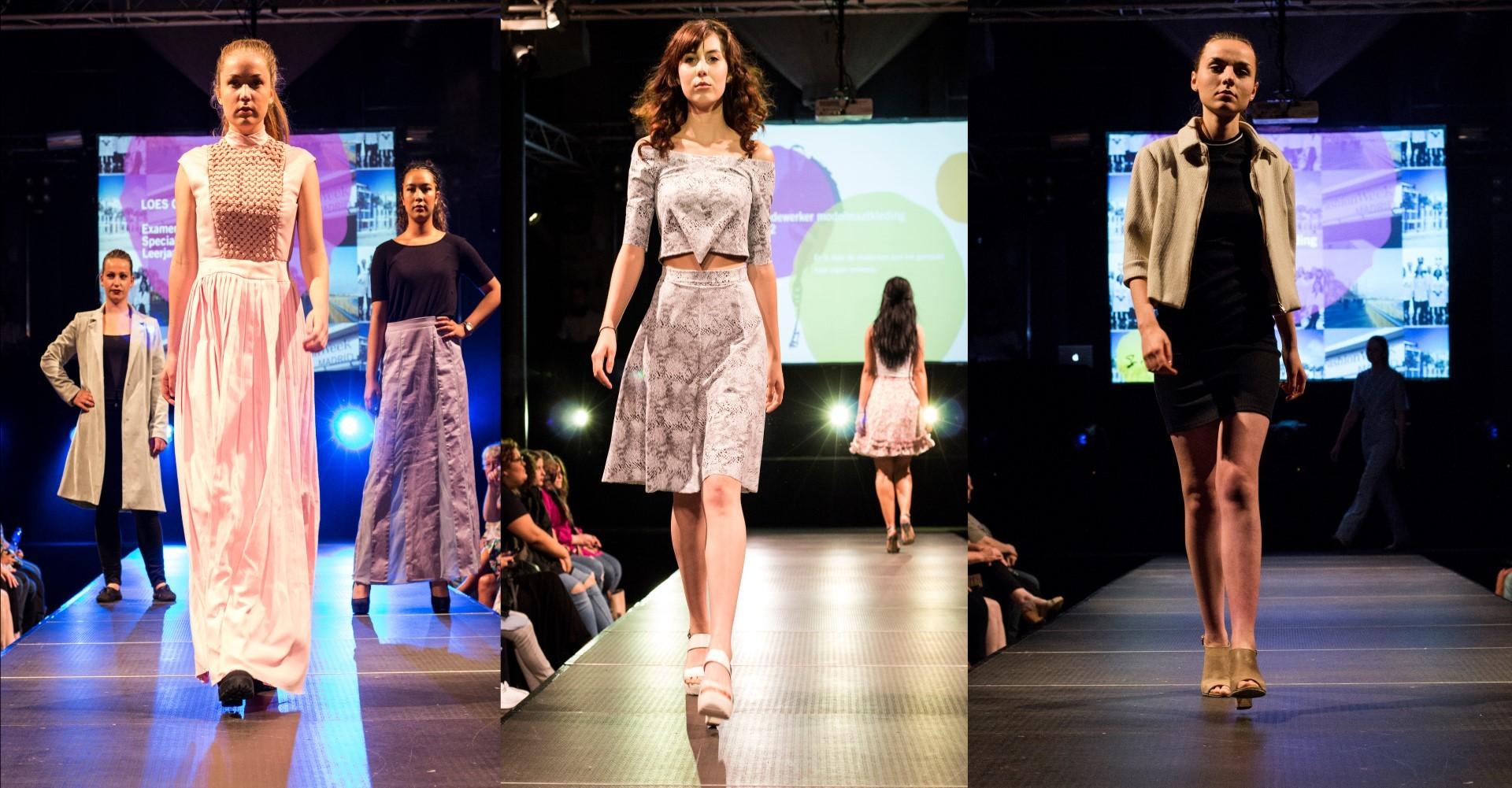 Prachtig Creaties Tijdens De Jaarlijkse Modeshow In De