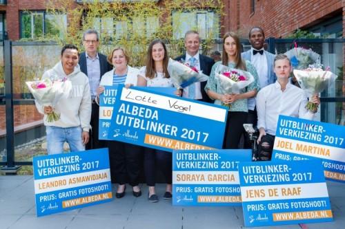 Facilitair Leidinggevende Lotte Vogel uitgeroepen tot Albeda-Uitblinker 2017