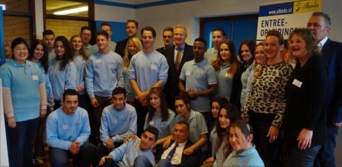 Opening Scholingswinkel Albeda College Hellevoetsluis: eigentijdse leer-werkomgeving voor studenten