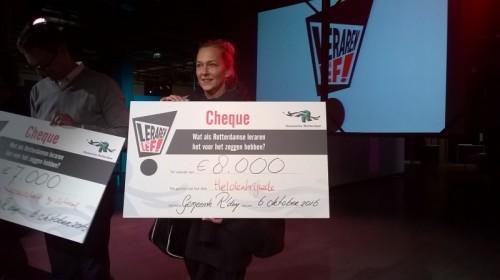 Docenten Startcollege winnen tweede prijs met idee: Rotterdamse Superhelden Brigade