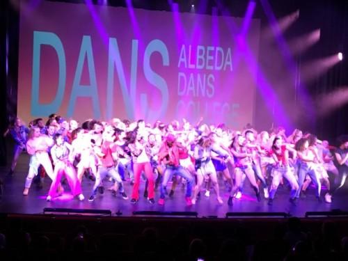 Energieke en indrukwekkende voorstelling door studenten Albeda Dans College