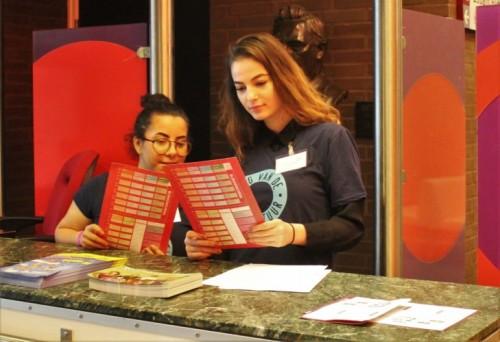 Albeda-studenten ondersteunen organisatie Dag van de Literatuur