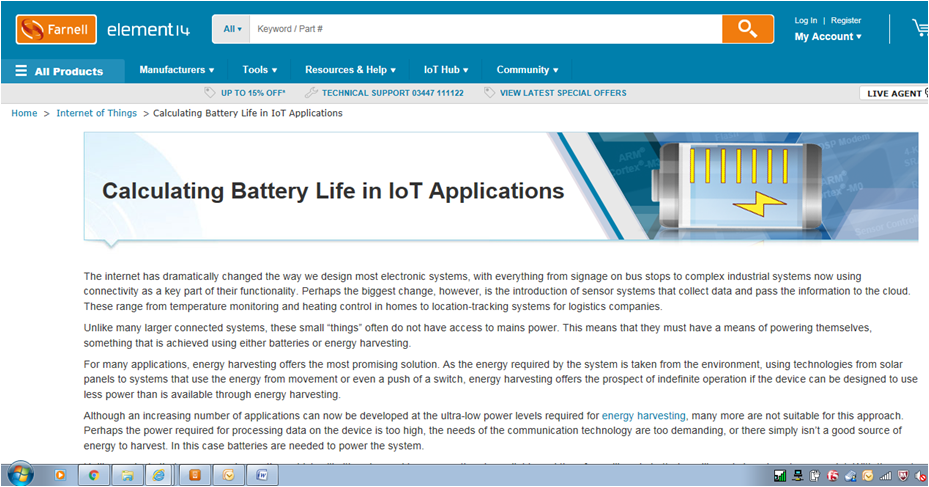 IoT power calculator helps IoT developers by predicting battery life