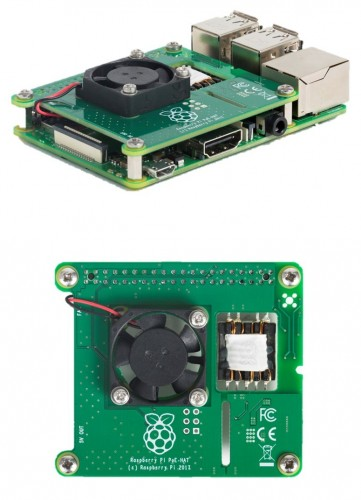 Premier Farnell announces availability of the official Power over Ethernet ( PoE) add-on board for the Raspberry Pi 3 Model B+ c10297df4e65