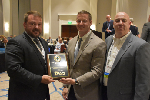 2018 TTMA Plant Safety Award