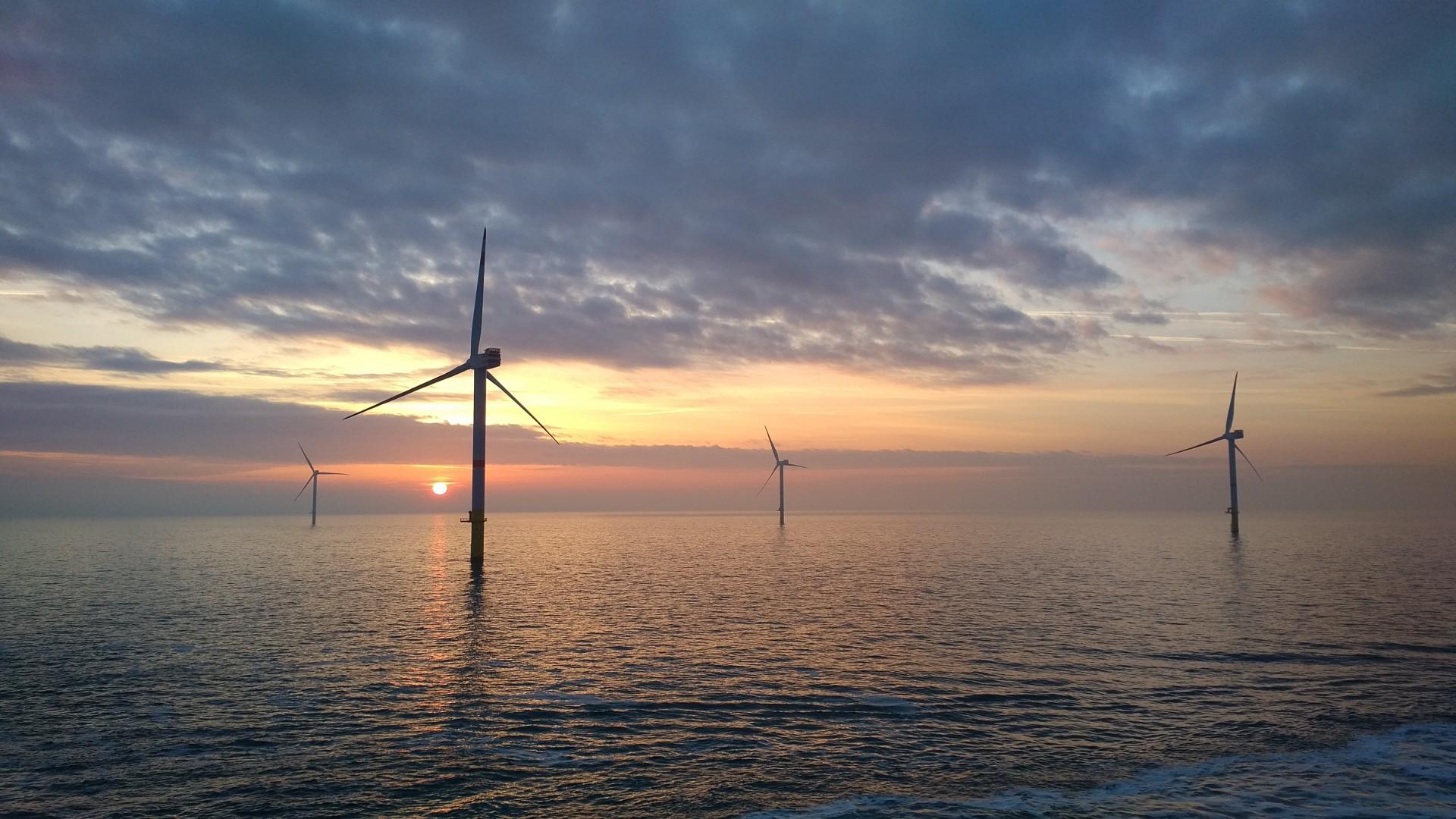 Offshore Windpark Nordsee One Feiert Erstes Betriebsjahr