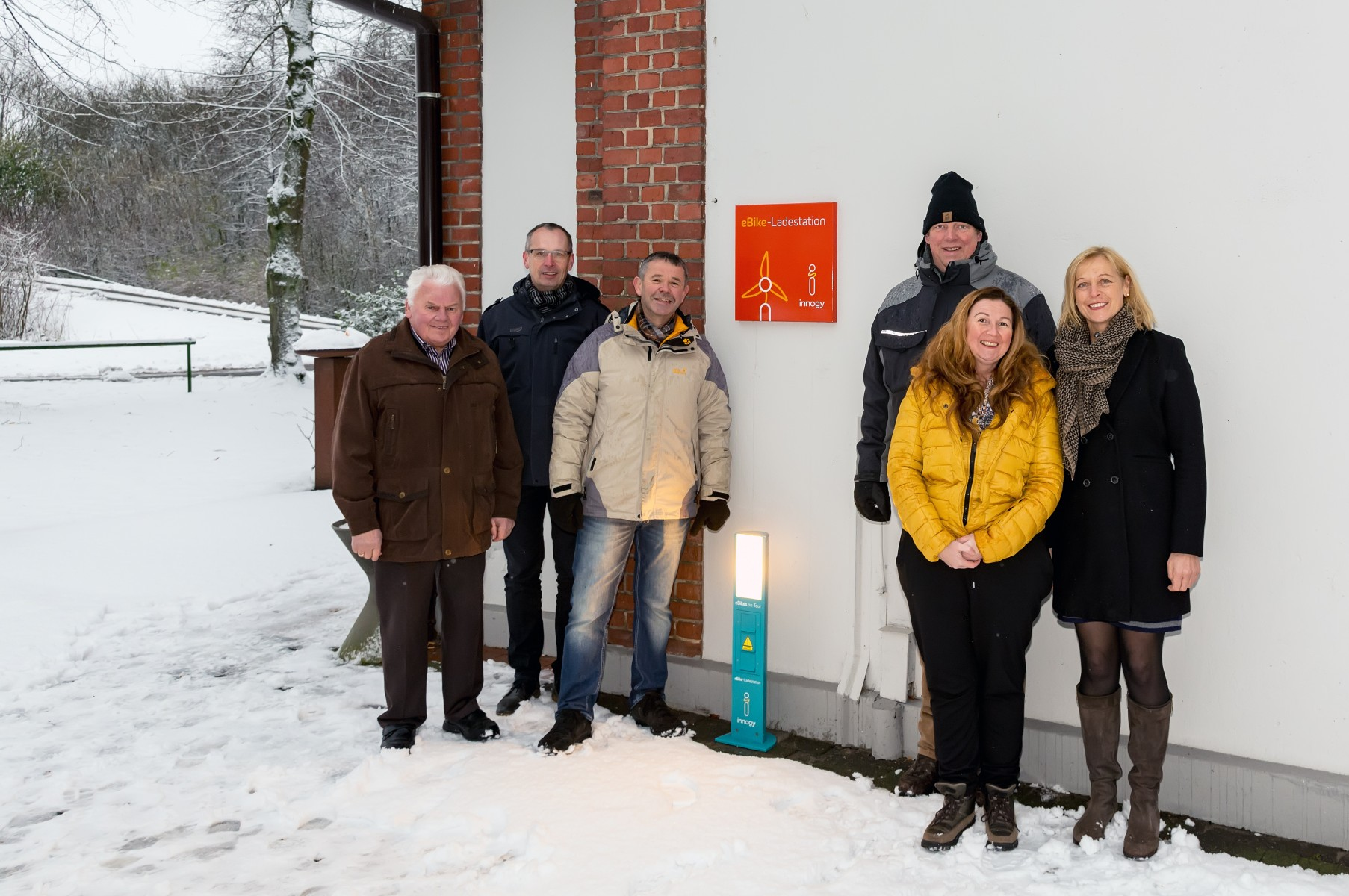 innogy E-Bike-Ladestation in Gescher