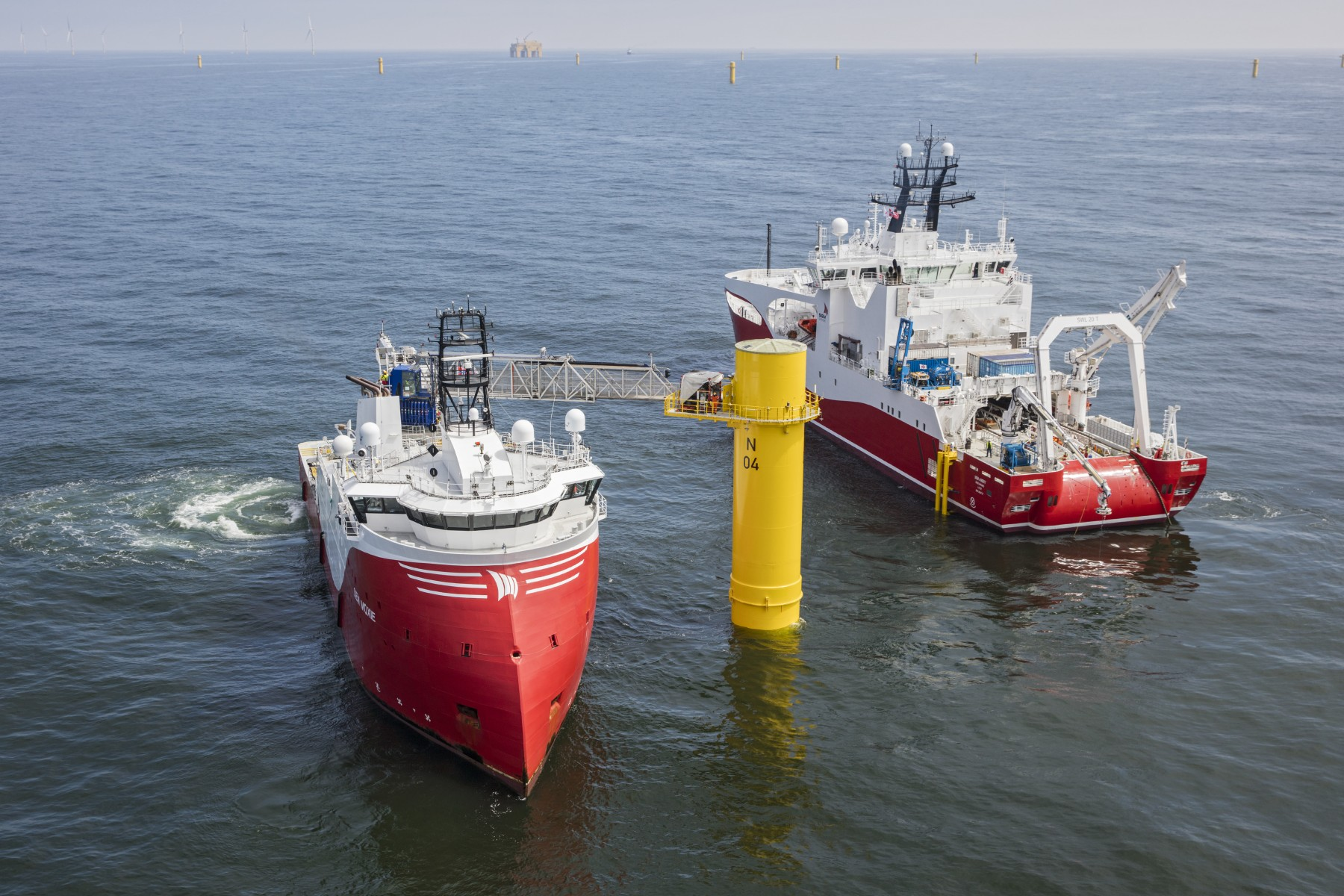 Offshore-Windpark Nordsee One