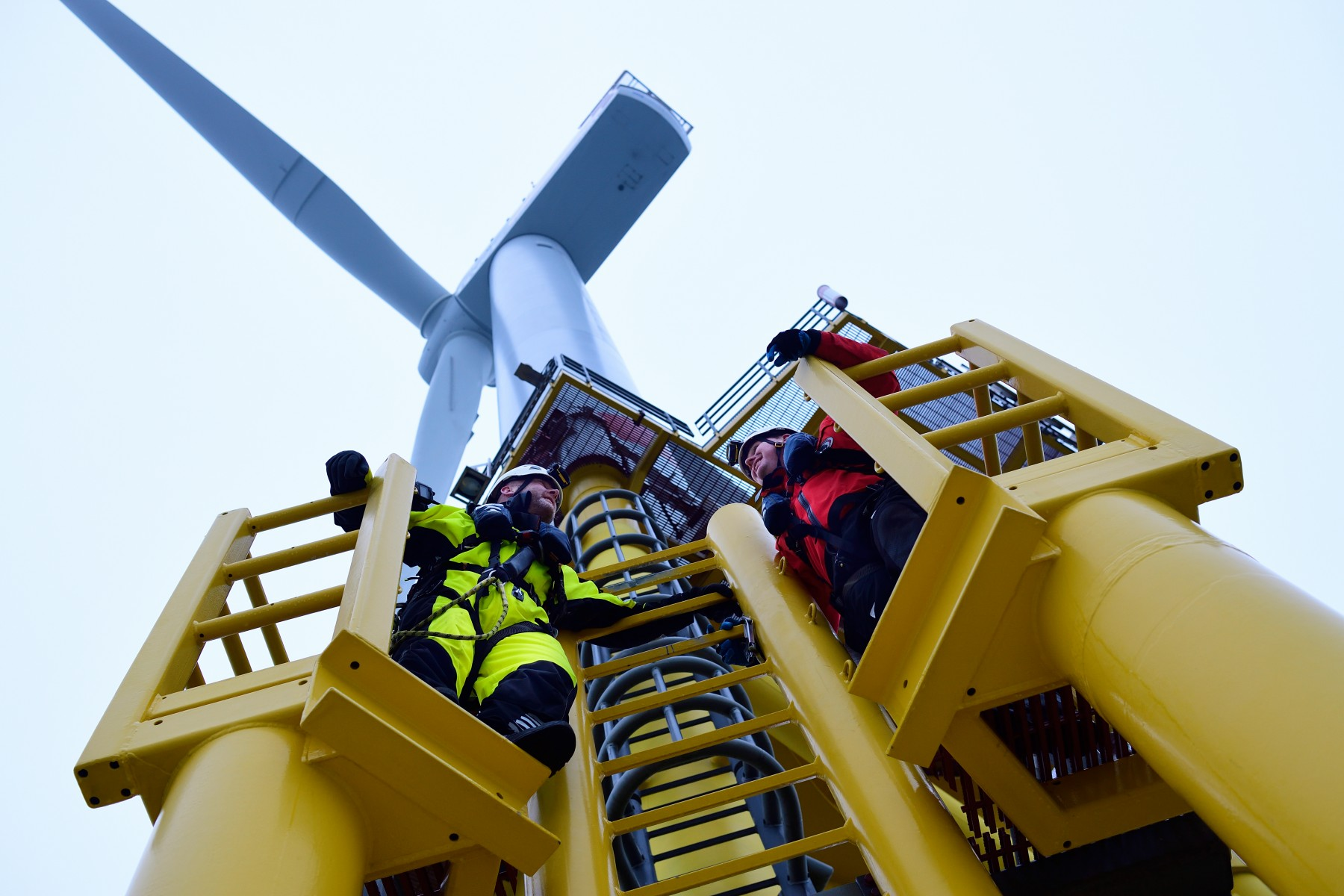 Wartung  Offshore-Windpark Nordsee Ost