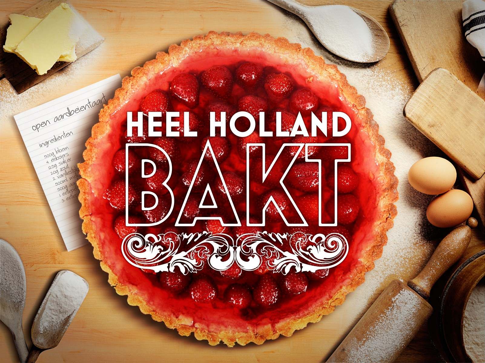 Heel Holland Bakt Logo
