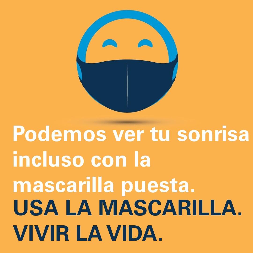 Mask Up AZ Do Life Campaign__Happy Face_SPANISH_IG
