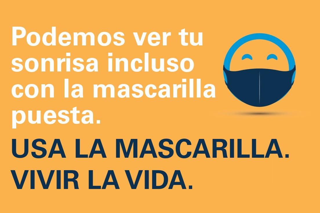 Mask Up AZ Do Life Campaign__Happy Face_SPANISH_LI