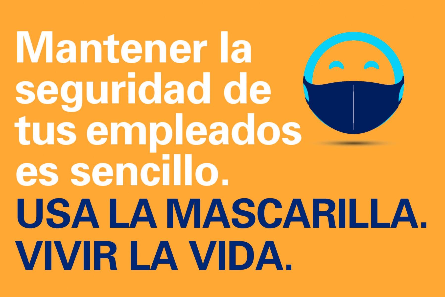 Mask Up AZ Do Life Campaign_Employees Safe_SPANISH_LI