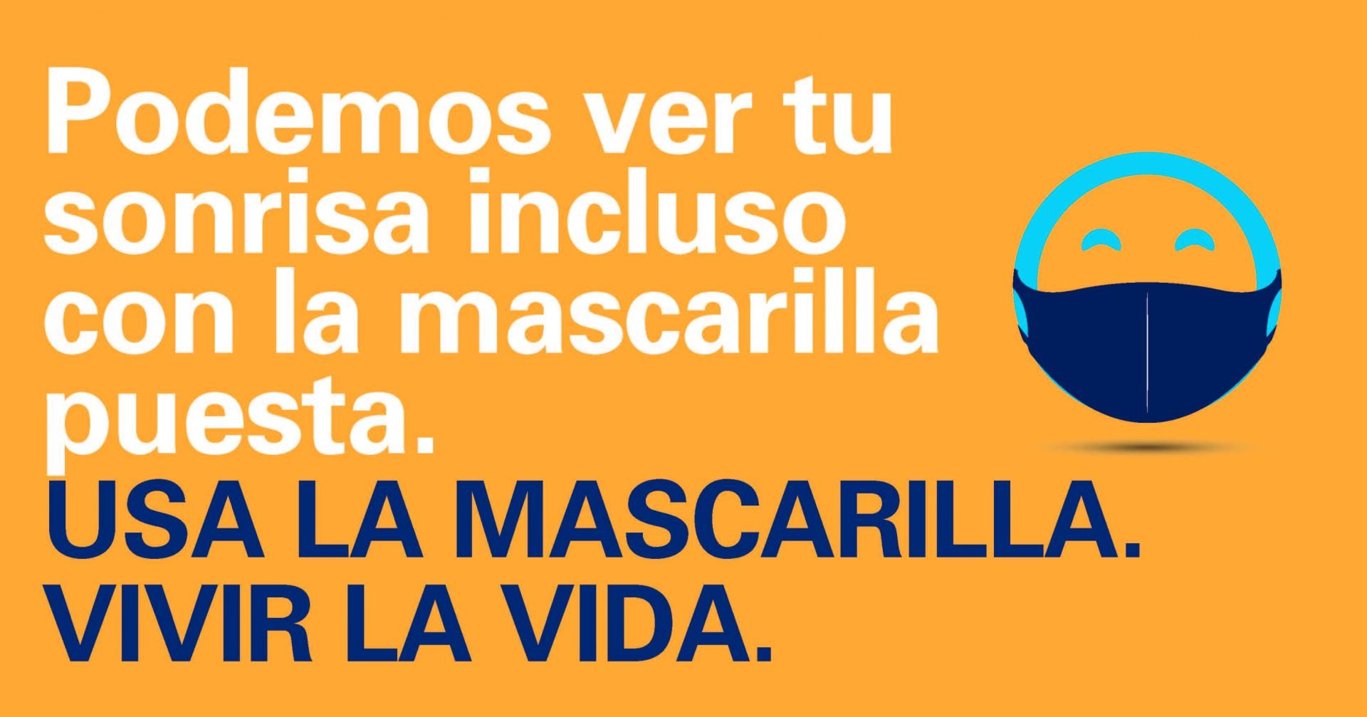 Mask Up AZ Do Life Campaign_Happy Face_SPANISH_FB