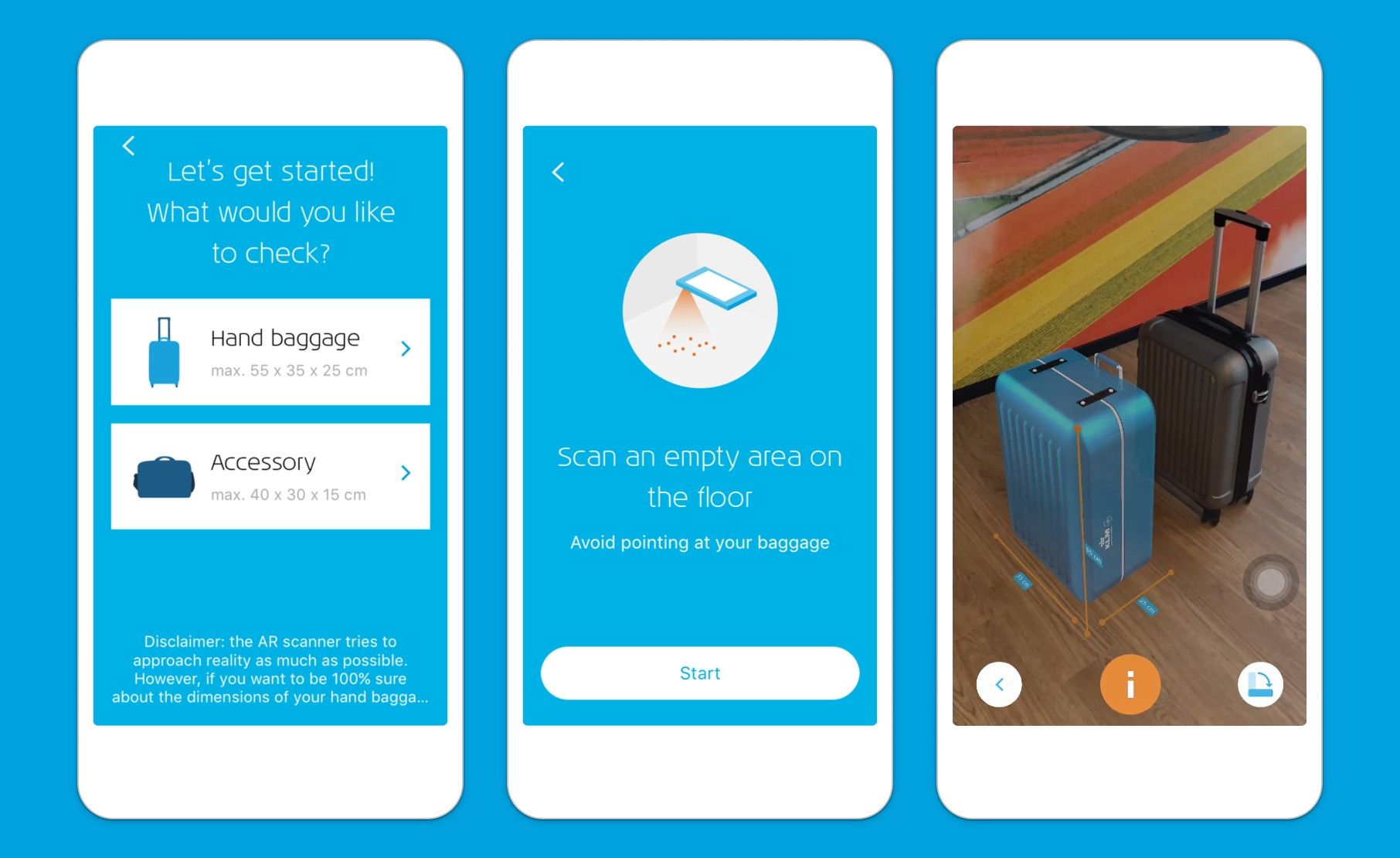 Klm Launches Augmented Reality For Hand Baggage Check Voucher Map 100000 No Exp Date