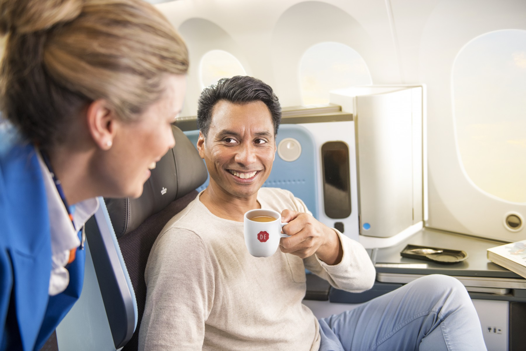 Klm And Douwe Egberts Create A New Dutch Taste Experience